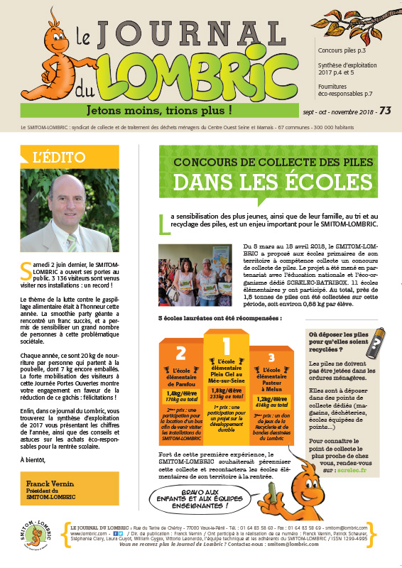 Journal du Lombric n°73